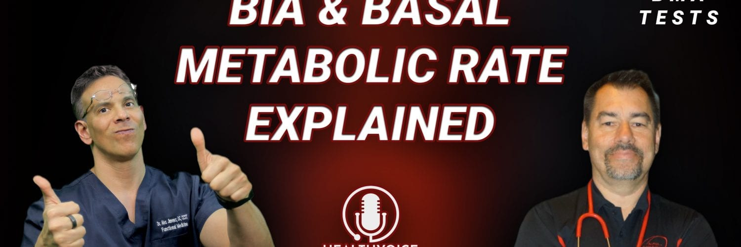 Podcast: BIA and Basal Metabolic Rate Explained | El Paso, TX Chiropractor