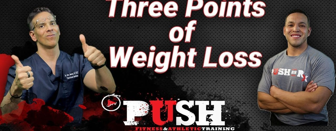 PUSH Fitness Podcast: Three Points of Weight Loss